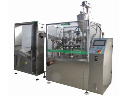 ZHF-100YC Aluminum Tube Filling Sealing Machine