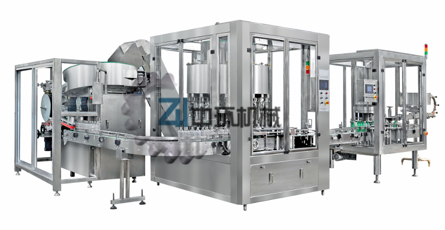 Recovery Bottles Filling Capping and Labeling Machine